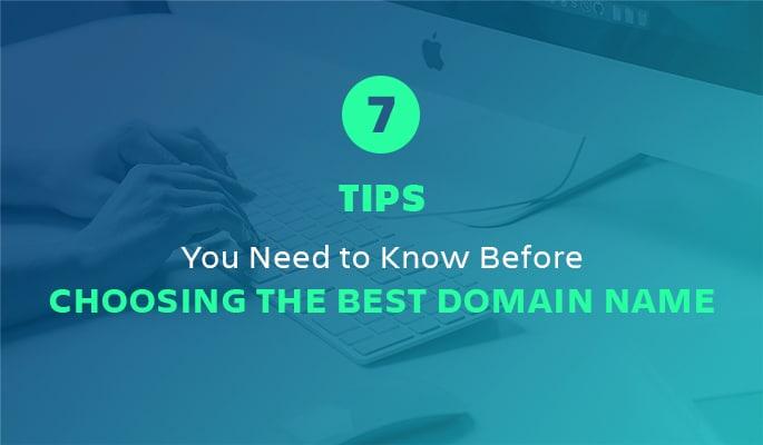 Choosing the best domain name