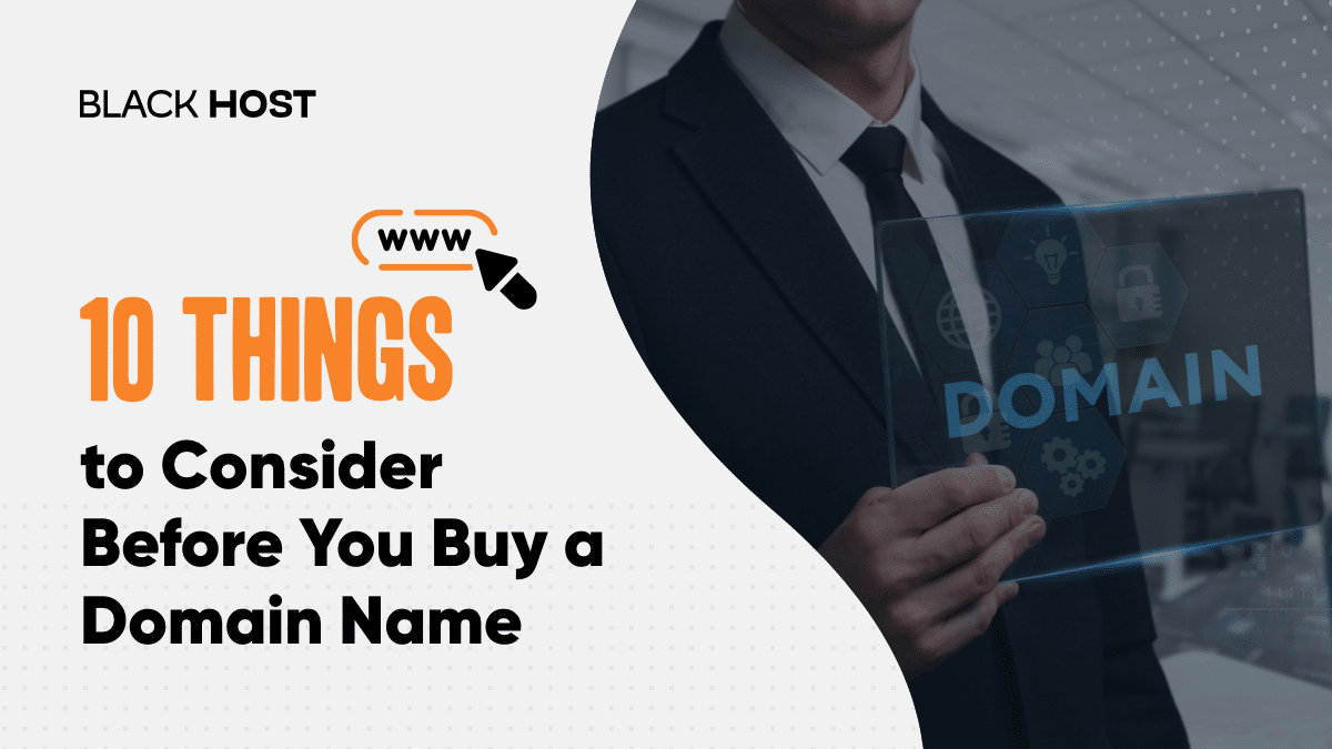 10 Things to consider before you buy a domain name