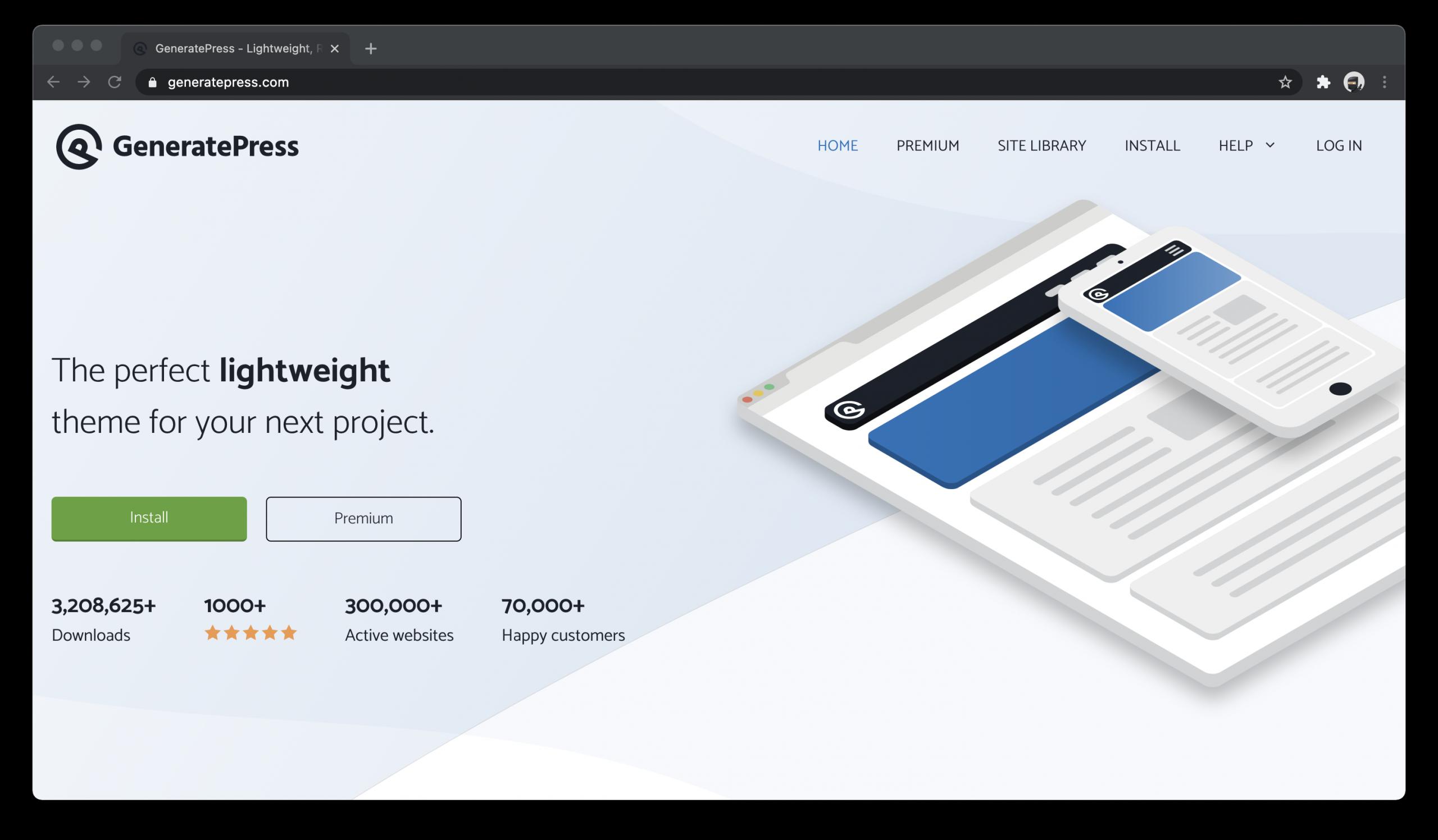 GeneratePress Free WordPress Theme
